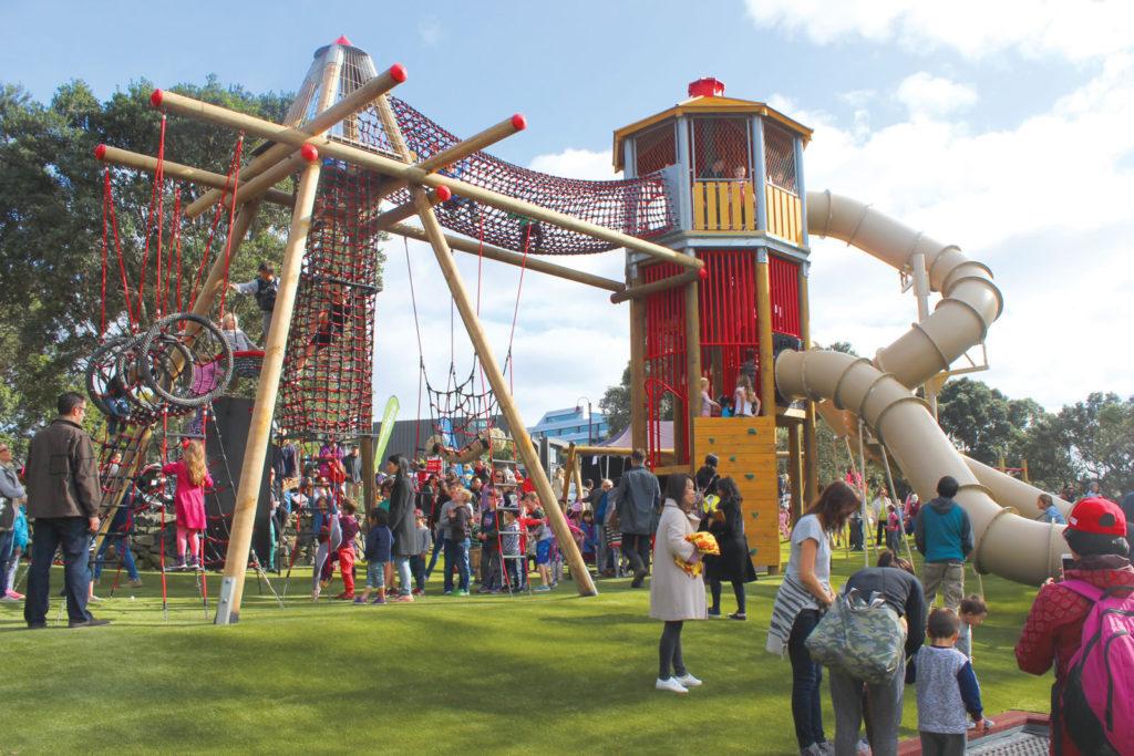 Kids Wooden Playground